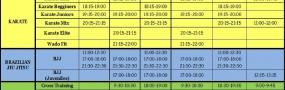 Πρόγραμμα Μαθημάτων season 2020-21 & Μέτρα για COVID-19